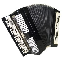 Folk Bayan Etude, Chromatic Button Accordion, made in Russia Tula, 100 bass 1407, B System, Rich and Quality sound!