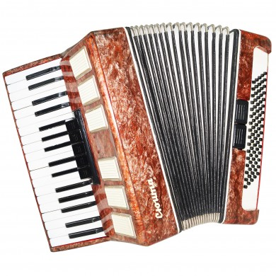 Piano Accordion Suita, made in Russia 80 Bass Keyboard Accordian New Straps 1397, Folk Musical Instrument, Excellent sound.