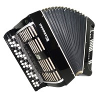 Rare Bayan Concert, Double Cassotto, Russian Button Accordion Poweful Sound 1404, Great Chromatic Accordian.
