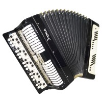 Bayan Etude, Chromatic Button Accordion, made in Tula Russia, 100 bass Case 1466, B System, Rich and Quality sound!