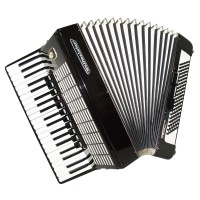 Weltmeister Stella, 120 Bass, made in Germany, Piano Accordion, New Straps, 1468, Excellent Sound! Full Size Accordian!