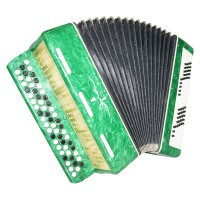 3 Rows Bayan Era, made in Russia, Chromatic Button Accordion, 100 Bass Case 1471, Bright and Quality sound!