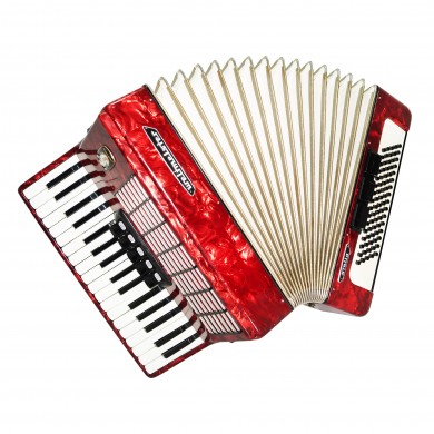 Weltmeister Stella, 80 Bass, made in Germany, Piano Accordion, New Straps, 1501, Bright and Quality Sound!