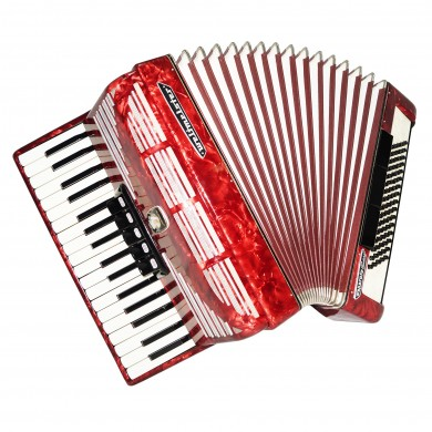 Almost Unused! Weltmeister Seperato, made in Germany, 80 Bass Accordion 1505, New Straps, Excellent sound.