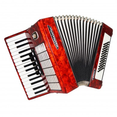 Close to New! Weltmeister Stella 60 Bass German Lightweight Piano Accordion 1522, New Straps, Perfect for Beginner Kids, Quality sound.