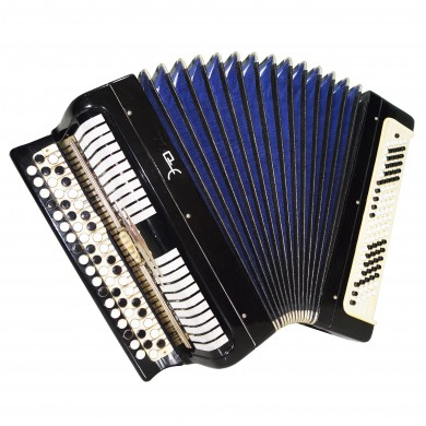 Folk Bayan Etude, made in Tula, Russia, Chromatic Button Accordion 100 bass 1533, Very Beautiful and Powerful Sound!