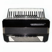 Weltmeister Stella, 120 Bass, made in Germany, Piano Accordion, New Straps, 1540, Excellent Sound! Full Size Accordian.