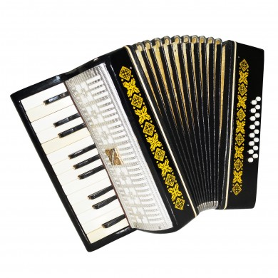 Almost Unused! Russian Accordion Malysh, Lightweight for Children Beginner 1585, incl. Case, Very Beautiful sound.