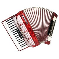 Weltmeister Seperato Standard, made in Germany, 96 Bass Piano Accordion, 1620, New Straps, Excellent High Quality sound!