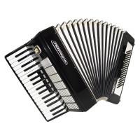 Close to New! Weltmeister Stella 80 Bass German Piano Accordion Straps Case 1623, Original Musical Instrument, Excellent Sound!