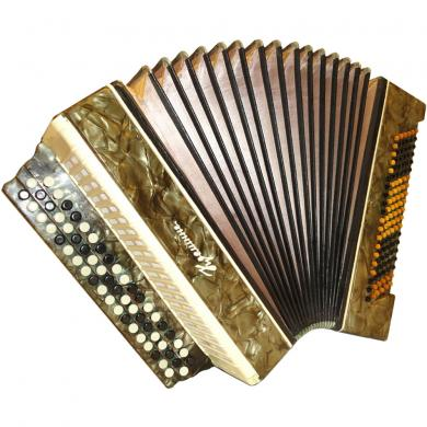 Kreminne / Кремінне, 120 Bass, Ukrainian Button Accordion Bayan, 53