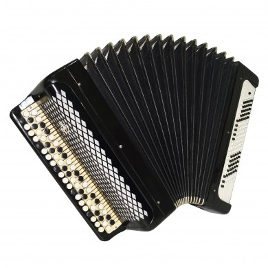Full Size Tulskiy Bayan, 120 Bass, Tula Chromatic Russian Button Accordion, 1649, New Straps, Rich and Very Quality sound.