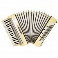 Weltmeister Light Weight Vintage German Piano Accordion 80 Bass New Straps 1655, Bright and Quality sound.