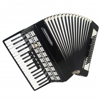 Perfect Weltmeister Serino 80 Bass made in Germany Piano Accordion Straps 1671, Bright and Quality sound.