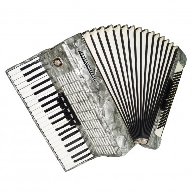 Perfect Weltmeister Stella made in Germany 120 Bass Accordion New Straps 1703, Rich and Powerful Sound!