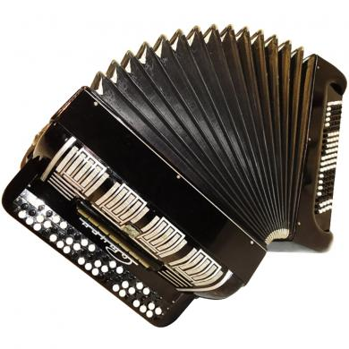 Saturn / Сатурн, 100 Bass, 7 Registers, Double Cassotto, Russian Button Accordion Bayan, 16