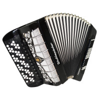 5 Row Converter Weltmeister German Button Accordion Free Bass Stradella Bayan 1736 120 Bass, New Straps, Very Rare Musical Instrument, Rich and Very Powerful sound.