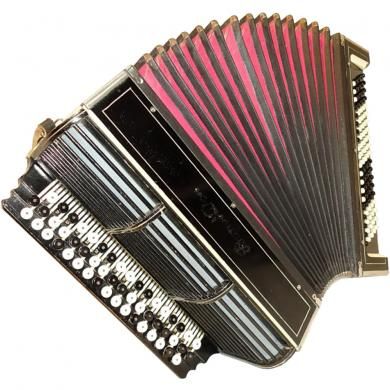 Rostov Don / Ростов Дон, 100 Bass, Russian Button Accordion Bayan, 19