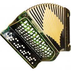 Serenade, 100 Bass, Case, German Button Accordion Bayan, 31