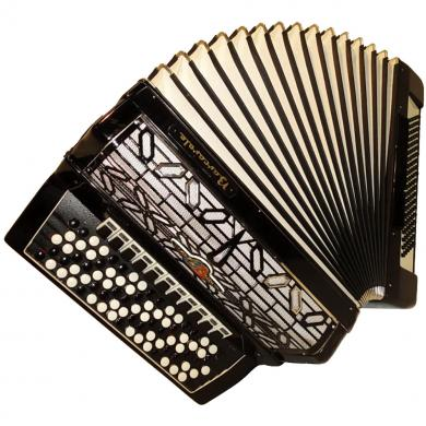 Barcarole Professional, 120 Bass, 14 Registers, 5 Rows, German Button Accordion Bayan, 21
