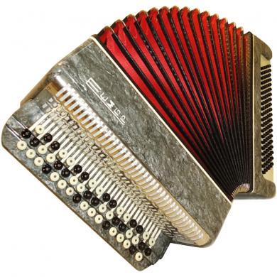 Tembr / Тембр, 100 Bass, Case, Russian Button Accordion Bayan, 73