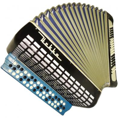 Iskra / Искра, 100 Bass, Russian Button Accordion Bayan, 149