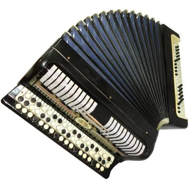 Etyud / Этюд, 100 Bass, Russian Button Accordion Bayan, 117