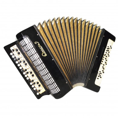 Converter: Free Bass Stradella Button Accordion, Bayan Tula, 80 Bass Straps 1529, Yunost 2 Perfect for Beginners or Children