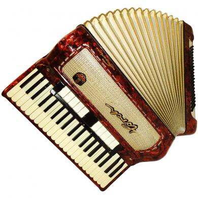 Horch Superior, 120 Bass, 13 Registers, German Piano Accordion, 185
