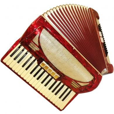 Perfect German Piano Accordion, 96 Bass, 7 Registers, 260
