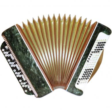 Tembr / Тембр, 100 Bass, Case, Russian Button Accordion Bayan, 327