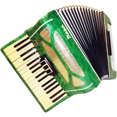 Russian Piano Accordion Temp / Темп, 80 Bass, 5 Registers, 294