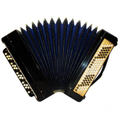 Tul'skiy / Тульский, 100 Bass, Russian Button Accordion Bayan, 482