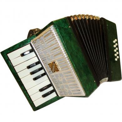 Russian Piano Accordion Malysh / Малыш, 10 Bass, For Beginner & Children, 369