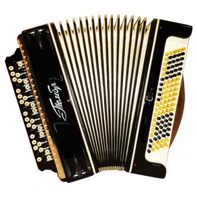 Tembr / Тембр, 100 Bass, Russian Button Accordion Bayan, 501