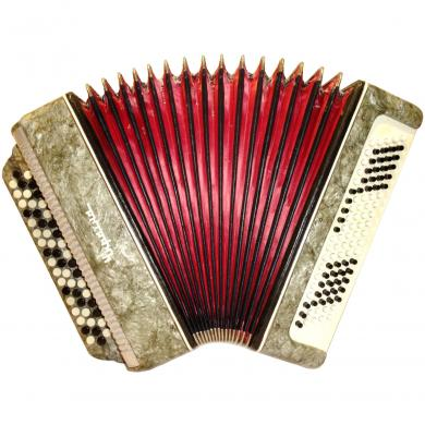 Ukraine / Україна, 100 Bass, Ukrainian Button Accordion Bayan, 362