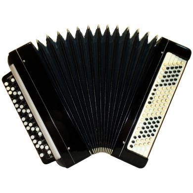 Tul'skiy / Тульский, 100 Bass, Case, Russian Button Accordion Bayan, 415