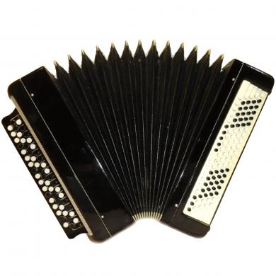 Tul'skiy / Тульский, 100 Bass, Russian Button Accordion Bayan, 412