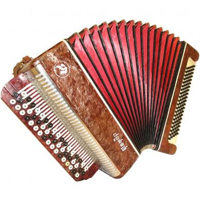 Tembr / Тембр, 100 Bass, Case, Russian Button Accordion Bayan, 13