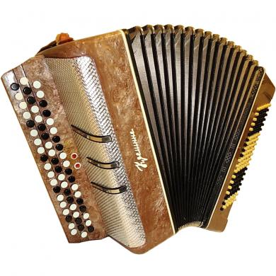 Kreminne / Кремінне, 120 Bass, 2 Registers, Ukrainian Button Accordion Bayan, 52