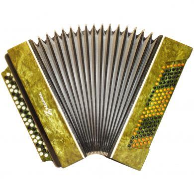 Kreminne / Кремінне, 120 Bass, Ukrainian Button Accordion Bayan, 401