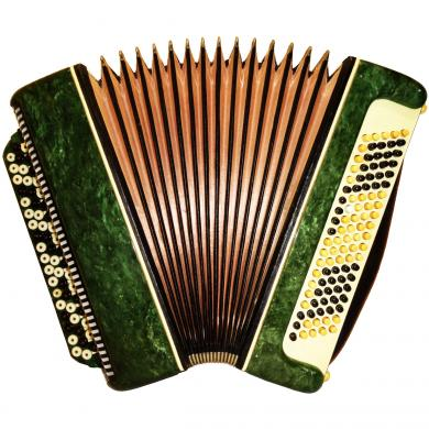 Tenor / Тенор, 100 Bass, Russian Button Accordion Bayan, 479