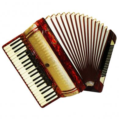 Contasina, 120 Bass, 14 Registers, German Piano Accordion, 574