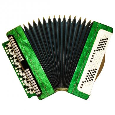 Etyud / Этюд, 100 Bass, Russian Button Accordion Bayan, 565