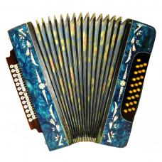 Handmade Garmon / Гармонь, 25 x 25, Russian Button Accordion Bayan, 508