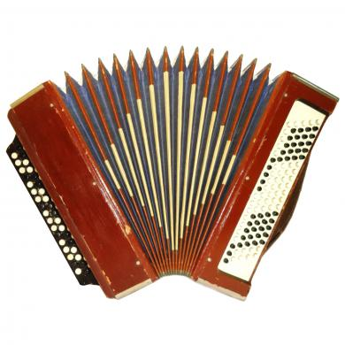 Tul'skiy / Тульский, 100 Bass, Russian Button Accordion Bayan, 509