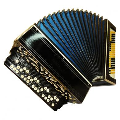 Tul'skiy / Тульский, 100 Bass, Russian Button Accordion Bayan, 515