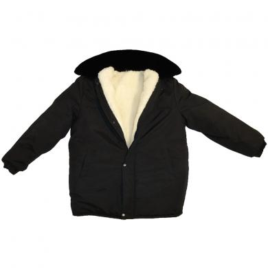 Type I Russian Military Army Winter Camo Black BDU Jacket Uniform