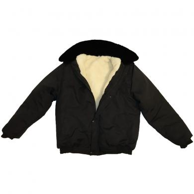 Type II Russian Military Army Winter Camo Black BDU Jacket Uniform