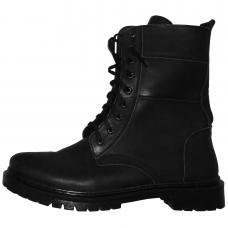 New Military Army Autumn Spring Leather Boots Ukrainian Uniform